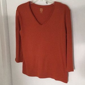 Anne Klein rusty T shirt